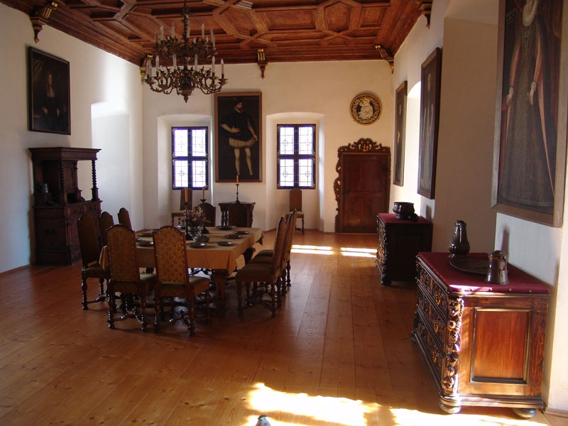 zámek interiér